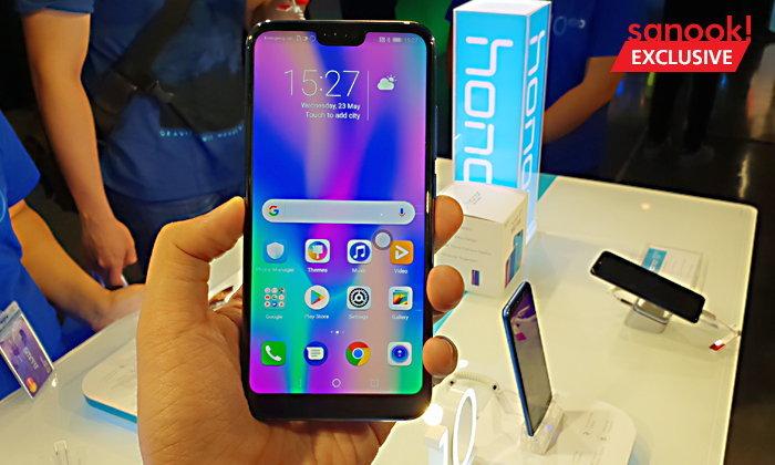 Honor เปิดตัว Honor 10 สมาร์ทโฟน สเปคแรง ราคาไม่แพงพร้อมกล้องหลังคู่ไฮเอนด์