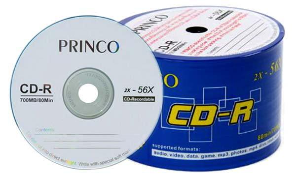 แผ่นเปล่า CD-DVD Princo เลิกผลิตแล้ว (ยังคงขายของที่มีในสต็อกจนหมด)