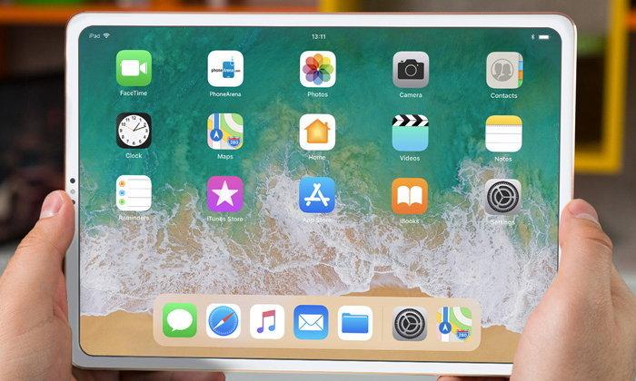 """ชมคอนเซ็ปต์ """"iPad Pro รุ่นใหม่"""" เวอร์ชันรองรับ """"Face ID"""" ที่ไม่จำเป็นต้องคู่กับดีไซน์จอบากเสมอไป"""