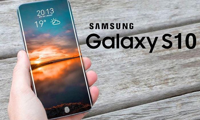 """""""Samsung Galaxy S10"""" อาจตัดลำโพงสนทนาออก และแทนที่ด้วยเทคโนโลยีใหม่ Sound On Display"""