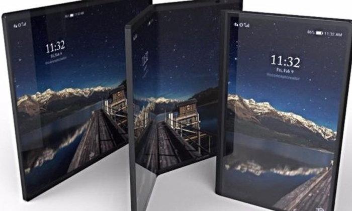 """Samsung อาจเปิดตัวสมาร์ทโฟน จอ 7 นิ้ว """"พับได้"""" ในปี 2019"""