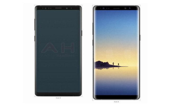 ชมภาพ Render ครบทุกด้านของ Samsung Galaxy Note 9 ก่อนเปิดตัวอย่างเป็นทางการ