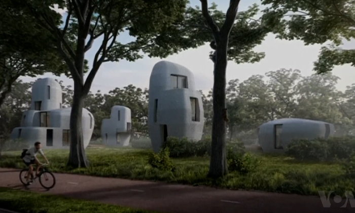 มาแล้วๆ! บ้านคอนกรีตจากเครื่องพิมพ์ 3 มิติเพื่อการพาณิชย์แห่งแรกในโลก