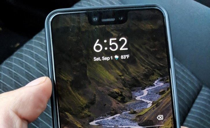 ภาพหลุดล่าสุด  คนขับแท็กซี่พบ Google Pixel 3 XL เครื่องสีดำ ที่เบาะหลัง