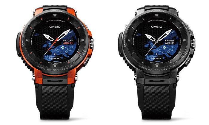 Casio เปิดตัว Pro Trek พร้อมระบบ Wear OS พร้อมใช้งานได้นานเป็นสัปดาห์