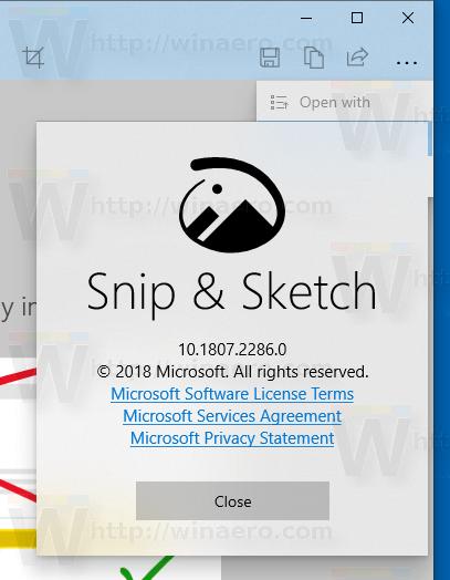 Microsoft ประกาศถอด Snipping Tool ออกจาก Windows 10 อัพเดตถัดไป แทนที่ด้วย Snip & Sketch