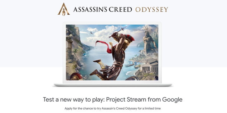 Google เตรียมปล่อยให้เล่น Assassin's Creed Odyssey ฟรี! ผ่านเบราว์เซอร์ Chrome
