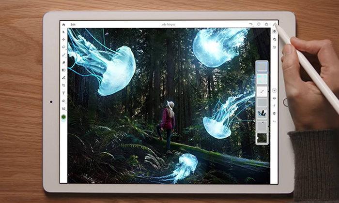Adobe เปิดตัว Photoshop CC สำหรับ iPad ที่หน้าตาเหมือนกับคอมพิวเตอร์