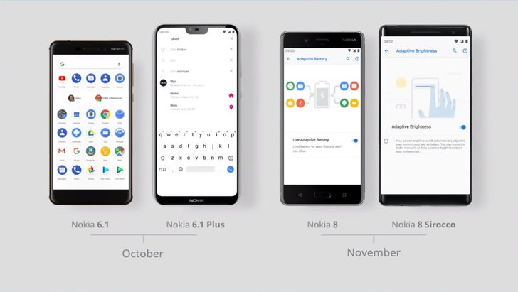 HMD Global เผยแผนการอัพเดต Android 9.0 Pie แก่สมาร์ทโฟน Nokia 4 รุ่นต่อไป เป็นที่เรียบร้อยแล้ว