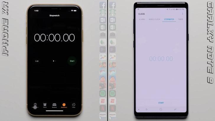 ดูกันชัดๆ! ทดสอบความเร็ว iPhone XR vs. Samsung Galaxy Note 9 ใครเร็วกว่ากัน?