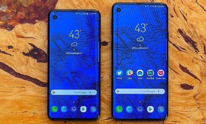 """""""Samsung Galaxy S10"""" จะมีขนาดหน้าจอเริ่มต้น 5.8 นิ้ว แบบเรียบไร้โค้งเว้า"""