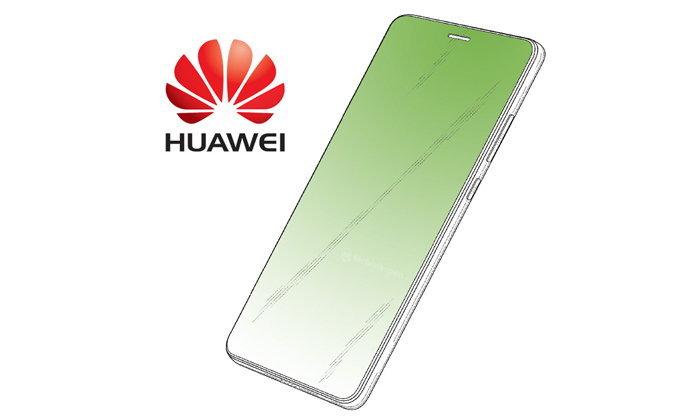 """ไม่ยอมกันเลย! สิทธิบัตรล่าสุด Huawei โชว์ดีไซน์จอเต็มไร้ติ่ง พร้อม """"รูบนหน้าจอ"""""""