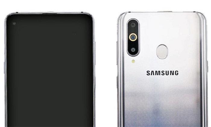 Samsung Galaxy A8s ผ่านการรับรองจาก TENAA แล้ว : เผยดีไซน์กล้องรูบนหน้าจอชัดเจน