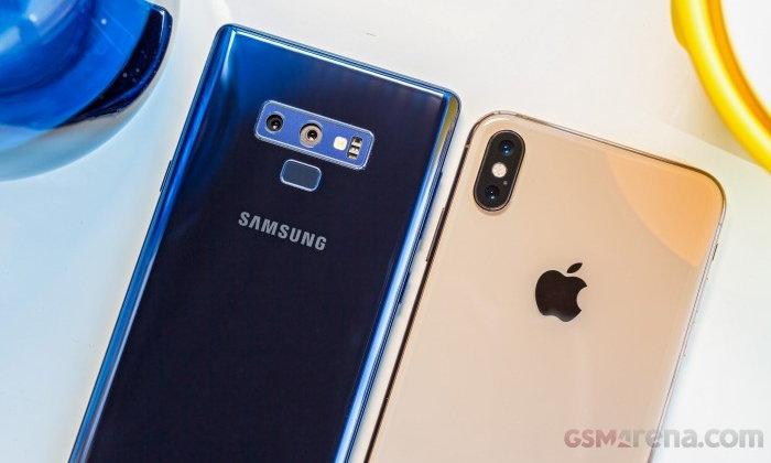 """เปรียบเทียบ """"iPhone"""" กับสมาร์ทโฟนรุ่นท็อป"""