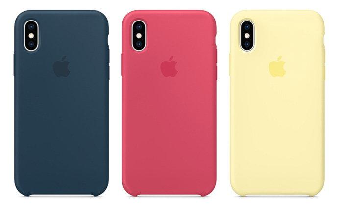 """Apple เพิ่มสีเคสใหม่ทั้ง """"iPhone XS"""", """"iPhone XS Max"""" รวมถึง """"Apple Watch"""" ไร้เงาเคสของ """"iPhone XR"""""""
