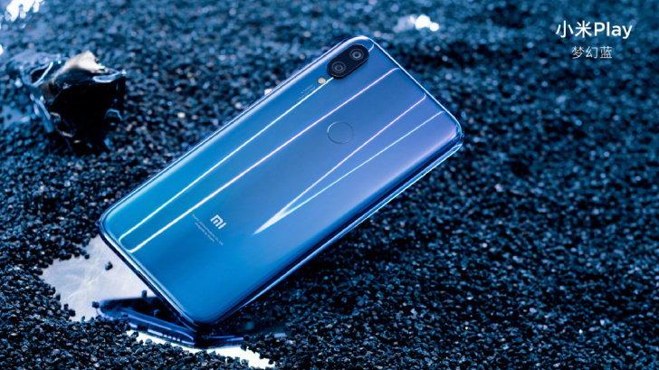 แค่ครึ่งหมื่น! Xiaomi เปิดตัว Xiaomi Play สมาร์ทโฟนดีไซน์พรีเมี่ยม ในราคาที่ทุกคนสัมผัสได้