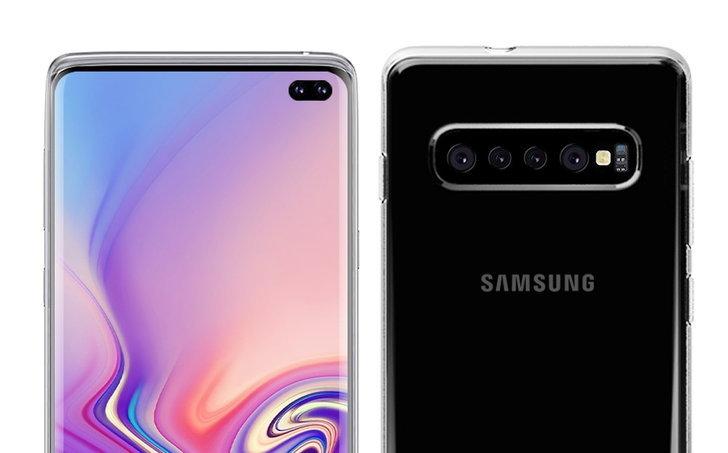 เรือธงสุดพรีเมียม Samsung Galaxy S10 + อาจมีกล้องถึง 6 ตัว : จากภาพเรนเดอร์เคสล่าสุด