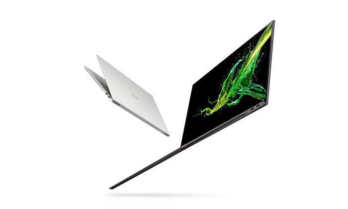 """""""Acer Swift 7"""" รุ่นใหม่เผยโฉมแล้ว ขอบจอบางแค่ 2.57 มิลลิเมตร น้ำหนักไม่ถึง 900 กรัม"""
