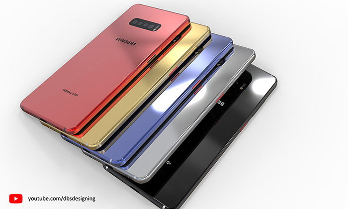 """ชมภาพ Render ของ """"Samsung Galaxy S10"""" และ """"S10+"""" ที่สวยงามเพิ่มเติมคือสีสันจัดจ้าน"""