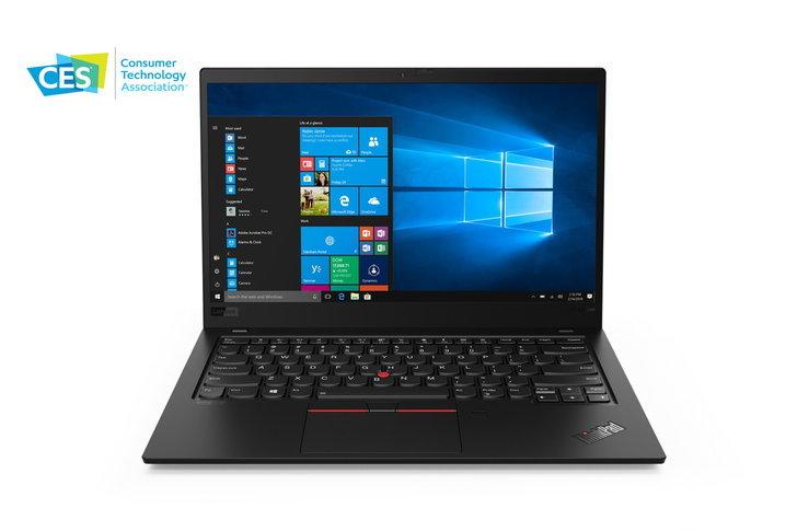 "[CES 2019]  Lenovo เปิดตัว ""ThinkPad X1 Carbon"" และ ""X1 Yoga"" ดีไซน์ใหม่ เบาบางกว่าเดิม"
