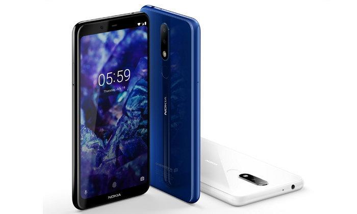 ผู้ใช้งาน Nokia 5.1 Plus ได้ใช้งานระบบปฏิบัติการ Android™ 9 Pie  ต้อนรับปีใหม่