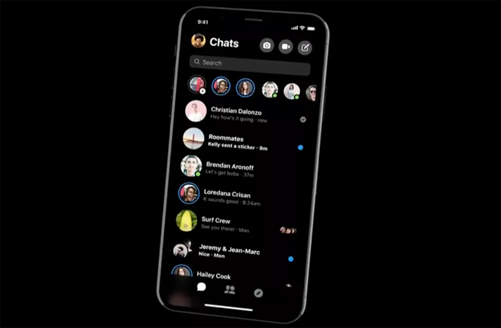 แอพ Messenger กำลังทดสอบ Dark Mode โหมดถนอมสายตา ในบางประเทศ ก่อนจะปล่อยอัปเดตเร็วๆ นี้