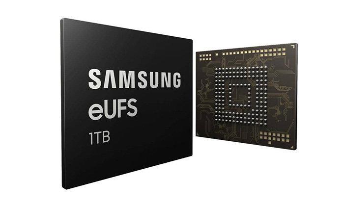 มาแล้ว Samsung eUFS ความจุ 1TB คาดว่าจะเป็นความจำประจำการใน Galaxy S10+