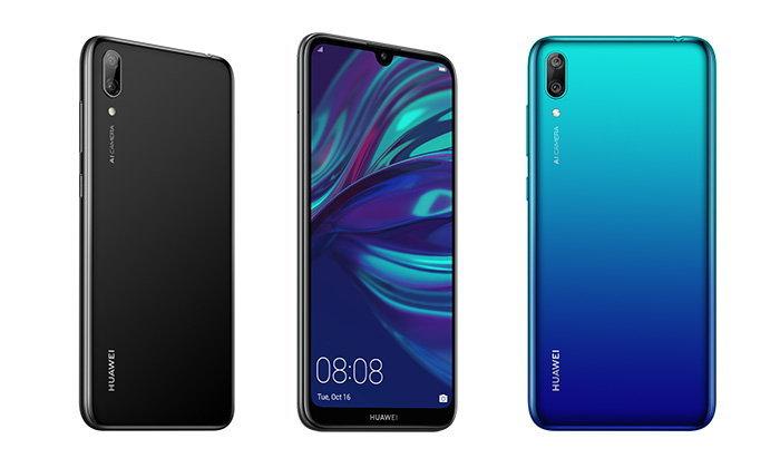 """""""Huawei Y7 Pro 2019"""" เตรียมเปิดตัวและจำหน่ายในประเทศไทย ในเดือนกุมภาพันธ์ นี้"""