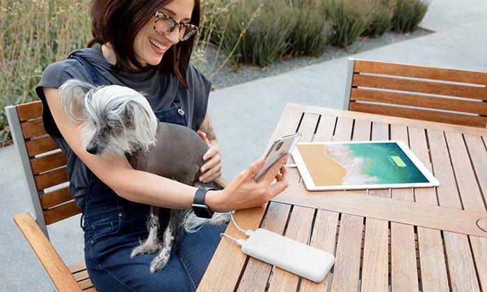 Belkin แนะนำ Powerbank 10000 mAh รุ่นใหม่ชาร์จไฟไว เพื่อ iPad และ iPhone