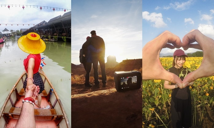 3 ไอเดียโชว์หวานของคู่รักช่วงวาเลนไทน์ด้วยภาพและวิดีโอสุดประทับใจ