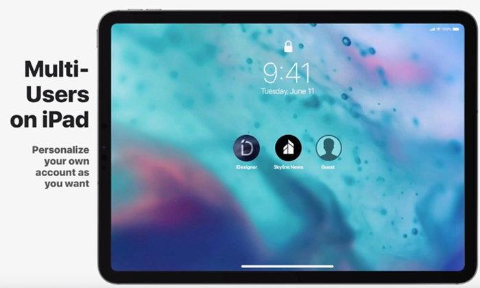 คอนเซปต์ iOS 13 มี Dark Mode, รองรับการทำงานหลายบัญชีบน iPad และเน้นปรับปรุงดีไซน์เป็นหลัก