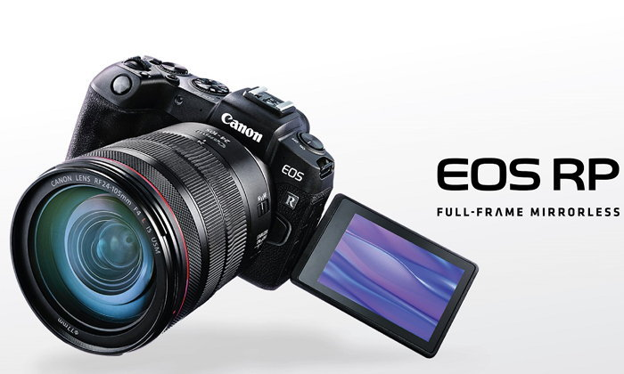 """เผยโฉม """"CANON EOS RP"""" กล้องมิเรอร์เลสฟูลเฟรม เล็กและเบาที่สุดจากแคนนอน"""