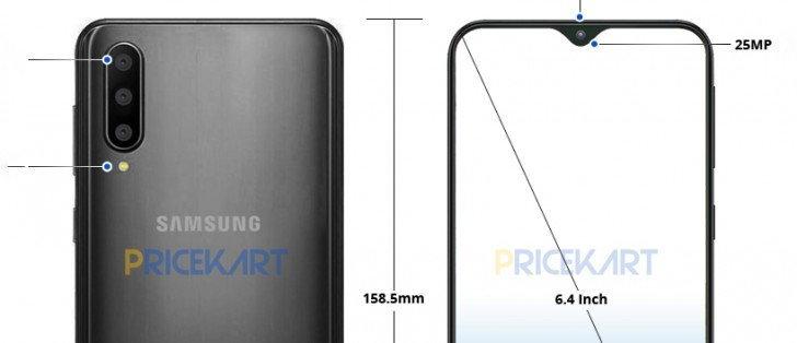 หลุดภาพเรนเดอร์ Samsung Galaxy A50 และสเปคเต็มทั้ง 3 รุ่น : ระดับกลาง สเปคโหดไม่แพ้เรือธง
