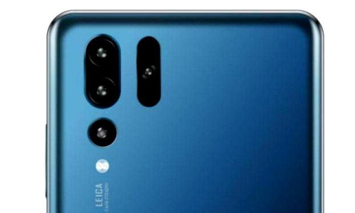 """ชมอีกครั้ง """"Huawei P30 Pro"""" จะมีกล้องหลังทั้งหมด 4 ตัว แน่นอน"""