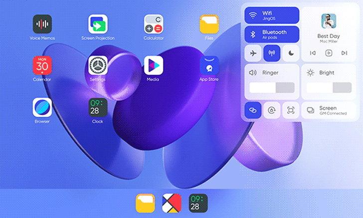 บันดาลใจ จีนเปิดตัว JingOS ที่เหมือน iPadOS ทั้งหน้าตาและฟีเจอร์การใช้งาน