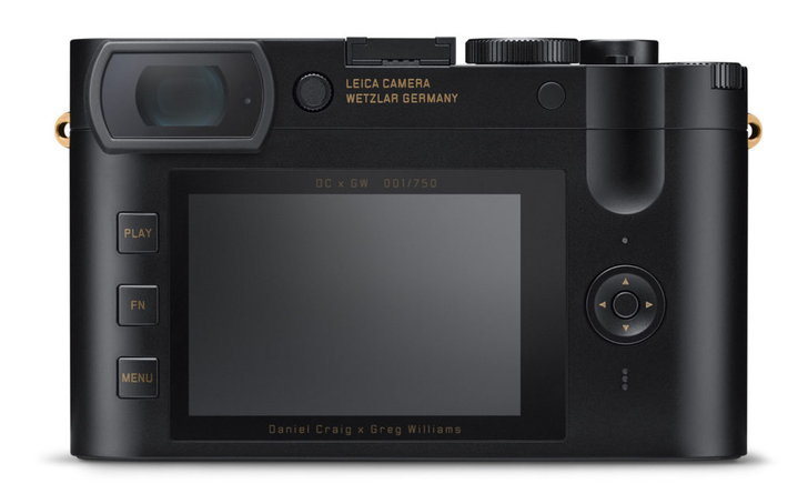 Leica Q2 Daniel Craig x Greg Williams Limited Edition
