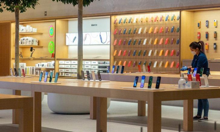 Apple พร้อมเปิด Apple Store ในสหรัฐอเมริกาครบทุกสาขา เป็นครั้งแรกหลังจากปิดมาครบปี