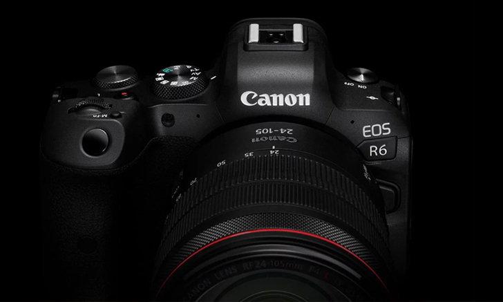 Canon ปล่อยเฟิร์มแวร์กล้อง EOS R6 V.1.3.1 แก้ bug วิดีโอจากเวอร์ชันก่อนหน้า