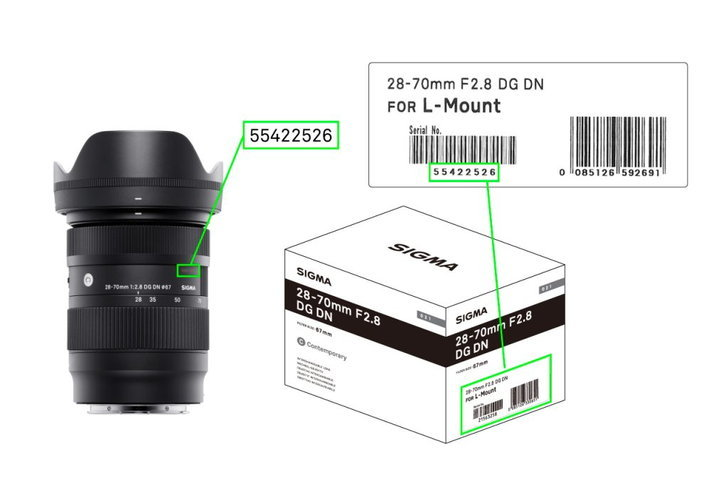 Sigma 28-70mm f/2.8 DG DN Art Contemporary