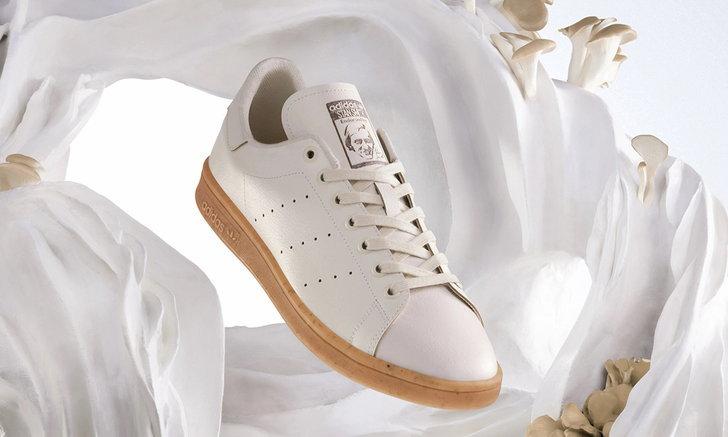 Adidas เปิดตัวรองเท้า Stan Smith ที่ใช้หนังเทียมผลิตจากเห็ด