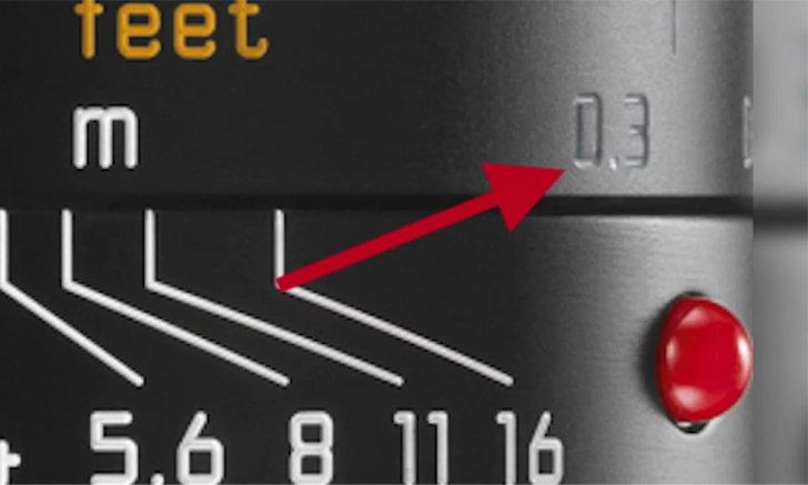 Leica เตรียมเปิดตัวเลนส์ M-mount ที่โฟกัสได้ใกล้สุด 0.3 เมตร เพิ่มอีกอย่างแน่นอน