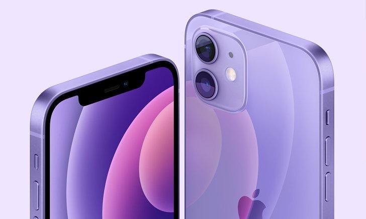 "Apple เปิดตัว ""iPhone 12"" และ ""iPhone 12 mini"" สีม่วงใหม่"