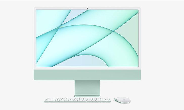 เปิดกล่อง iMac ใหม่ มาพร้อมกับอุปกรณ์ครบและสายอุปกรณ์ Match กับสีเครื่อง