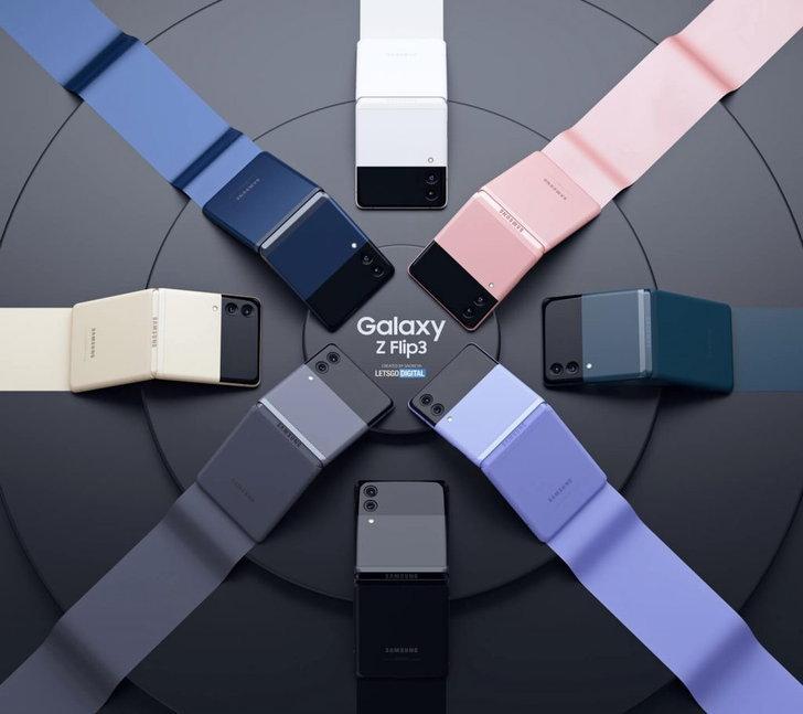 samsung-z-flip-3-smartphones-