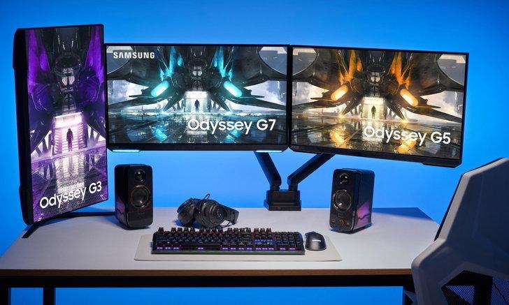 Samsung เปิดตัวจอภาพ Odyssey Gaming มอนิเตอร์เพื่อคนเล่นเกม จอเรียบ สเปกสูง