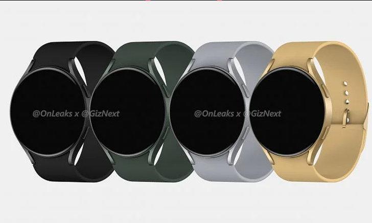 เผยเรนเดอร์แรก Samsung Galaxy Watch Active 4 ลุ้นเปิดตัว 29 มิถุนายน นี้