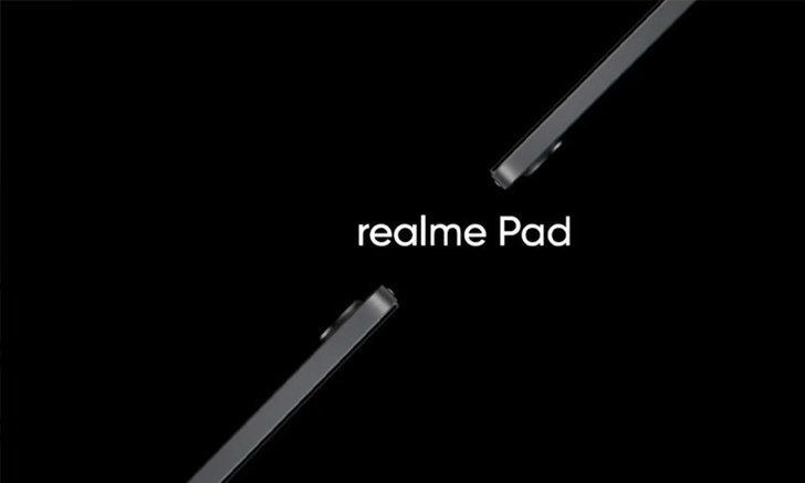 หลุดตัวเครื่องจริง Realme Pad ถูกนำมาทดสอบในที่สาธารณะ