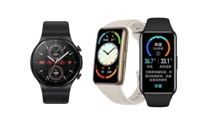 เปิดตัว Huawei Watch GT 2 Pro ECG และ Huawei Band 6 Pro รุ่นล่าสุดเพิ่มฟีเจอร์ดูแลสุขภาพอีกมากมาย