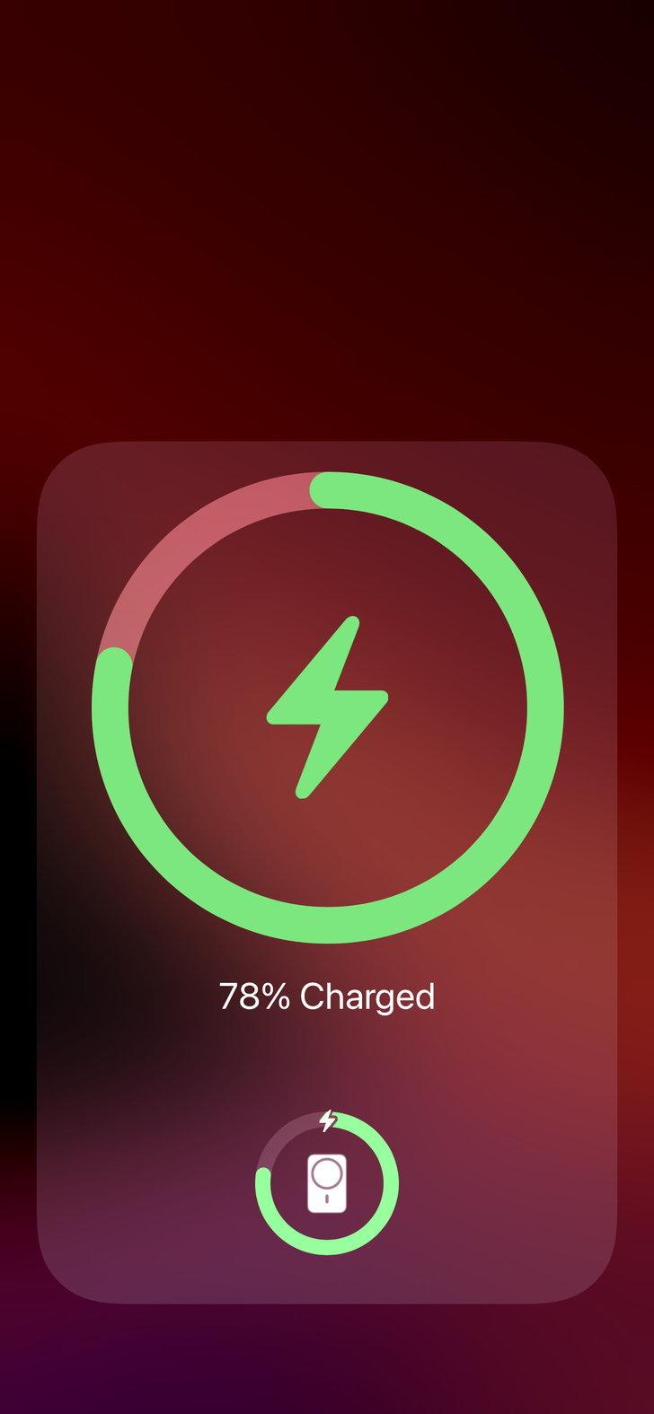 Reverse charging ก็จะขึ้นแบบนี้