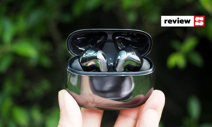 """แกะกล่องลองเล่น """"Xiaomi FlipBuds Pro"""" หูฟังไร้สายรุ่นใหม่ที่มีระบบตัดเสียงรบกวน ANC"""